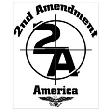 2ND Amendment Framed Print