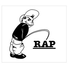 Piss on Rap Poster