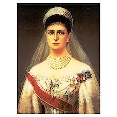 Alexandra Feodorovna Romanova Wall Art Poster