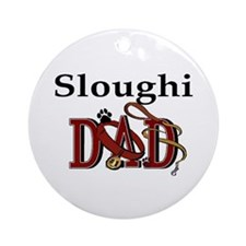 Sloughi Dad Ornament (Round)