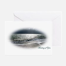 """Sea """"Thinking of You"""" Greeting Card"""