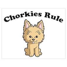 Chorkies Rule Poster
