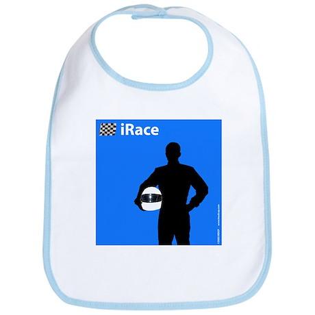 iRace Blue Race Driver Bib