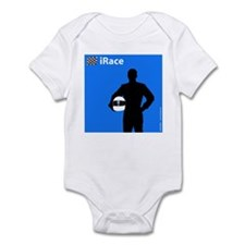 iRace Blue Race Driver Infant Creeper