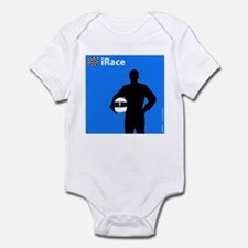 iRace Blue Race Driver Infant Creeper