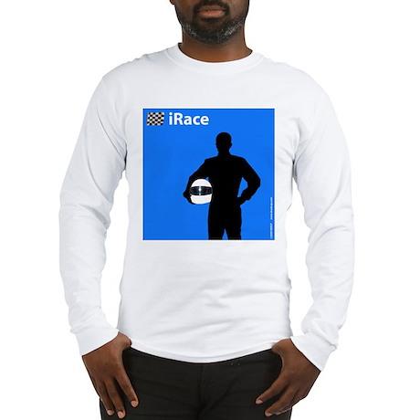 iRace Blue Race Driver Long Sleeve T-Shirt