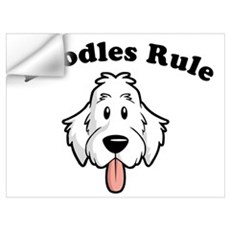 Doodles Rule Wall Decal