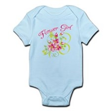 Paradise Flower Girl Infant Bodysuit