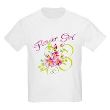 Paradise Flower Girl T-Shirt