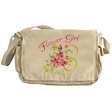 Paradise Flower Girl Messenger Bag