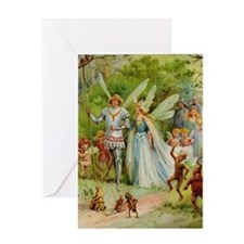 Fairy Prince and Princess Greeting Card