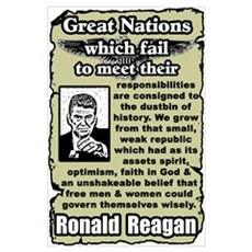 """Reagan: Great Nations"" Poster"