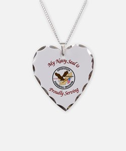 My navy seal Necklace