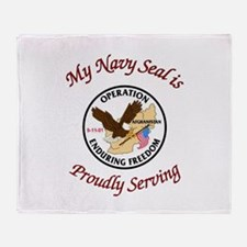 My navy seal Throw Blanket