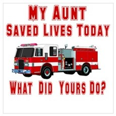 What Did Yours Do? Aunt Poster