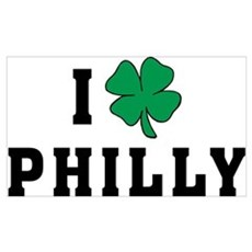 I Shamrock Philly Framed Print