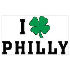I Shamrock Philly Poster