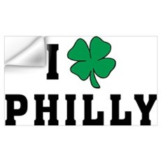 I Shamrock Philly Wall Decal