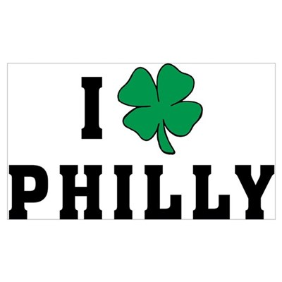 I Shamrock Philly Canvas Art