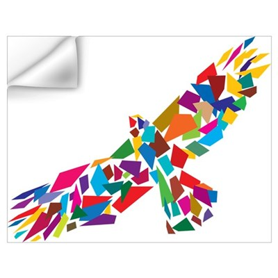 Bird in Flight Wall Decal