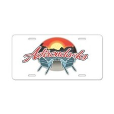Threedown Adirondack Aluminum License Plate