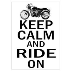 Bonneville - Keep Calm Poster