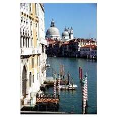 Grand Canal in Venice from Ac Poster