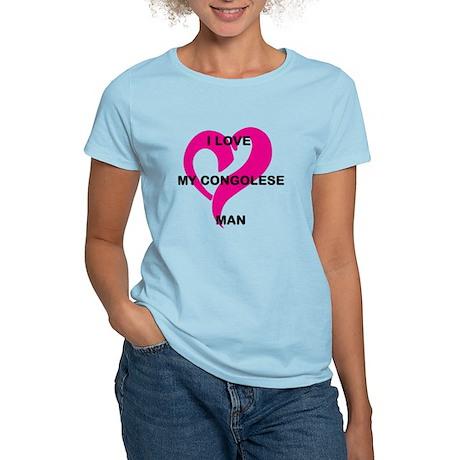 I love My Man Women's Light T-Shirt