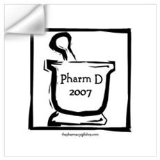 Pharm D 2007 Wall Decal