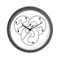 Irregular Times Wall Clock