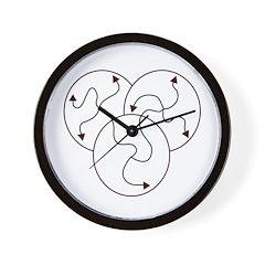 Irregular Times Wall Clock