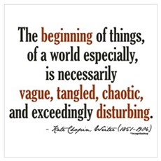 Kate Chopin Creation Quote Poster