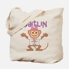 Little Monkey Caitlin Tote Bag