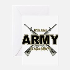 US Army If It Aint Army Greeting Card