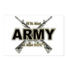 US Army If It Aint Army Postcards (Package of 8)