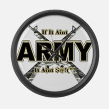 US Army If It Aint Army Large Wall Clock