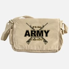 US Army If It Aint Army Messenger Bag