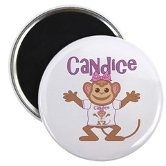 Little Monkey Candice Magnet