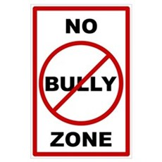 No Bully Zone Anti-Bullying Poster