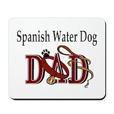 Spanish Water Dog Dad Mousepad