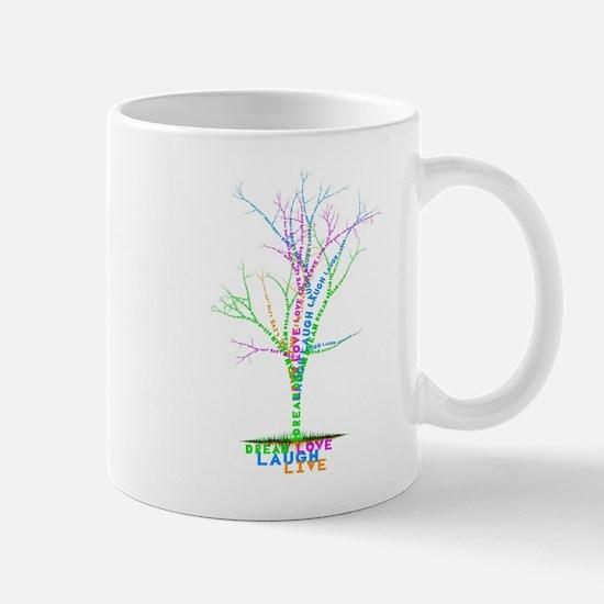 Live Love Laugh Dream design1 Mug