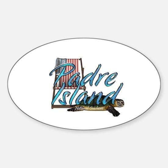 ABH Padre Island Sticker (Oval)
