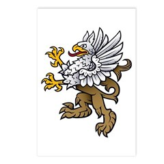 Gryphon Postcards (Package of 8)