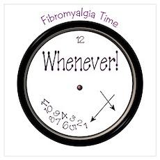 Fibromyalgia Time Poster