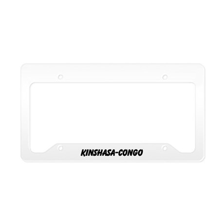 CONGO License Plate Holder