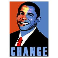 Obama for Change Poster