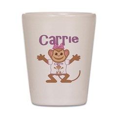 Little Monkey Carrie Shot Glass