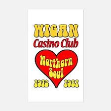 Wigan Casino Club Northern Soul 1973-1981 Decal