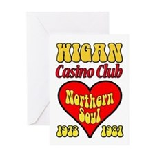 Wigan Casino Club Northern Soul 1973-1981 Greeting