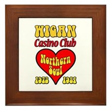 Wigan Casino Club Northern Soul 1973-1981 Framed T